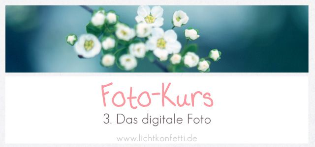 Foto-Kurs – Teil 3 - Das digitale Foto