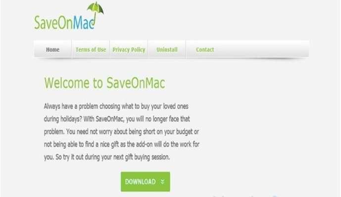 Remove SaveOnMac