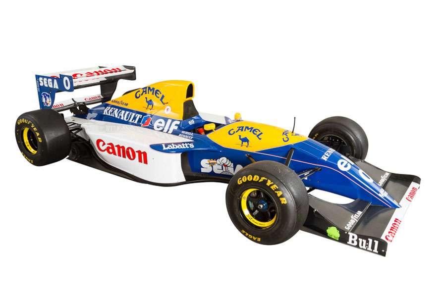Damon Hill's 1993 Williams FW15C
