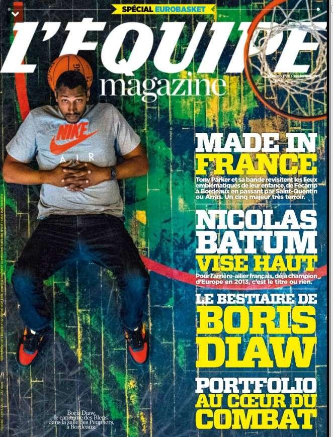 L'Equipe Magazine 1729 du samedi 5 septembre 2015