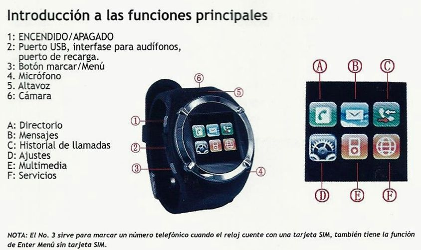 smart watch reloj celular