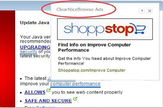 Remove ClearNiceBrowse Ads
