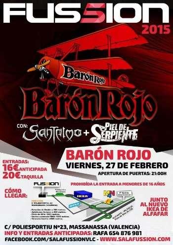 Barón Rojo + Santelmo