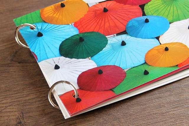 DIY Postkarten Album Minialbum Buch