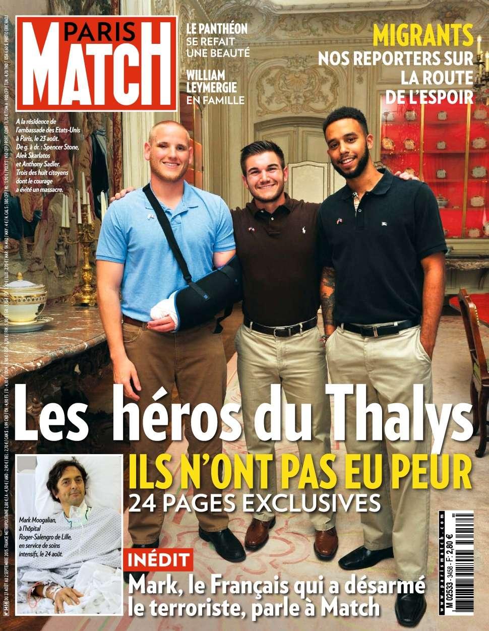 Paris Match 3458 - 27 Aout au 02 Septembre 2015
