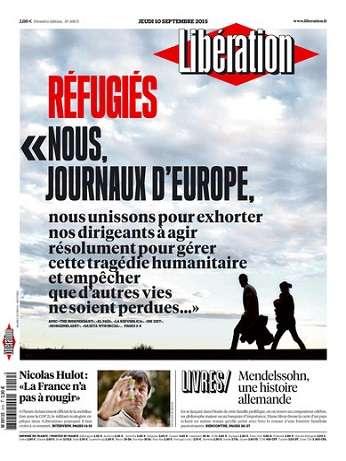 Liberation Du Jeudi 10 Septembre 2015