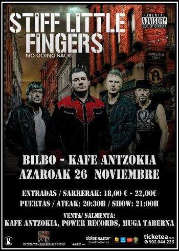 Stiff Little Fingers Bilbao