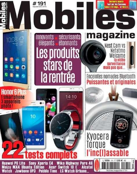 Mobiles – Septembre 2015