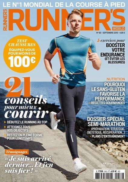 Runner's World 56 - Septembre 2015