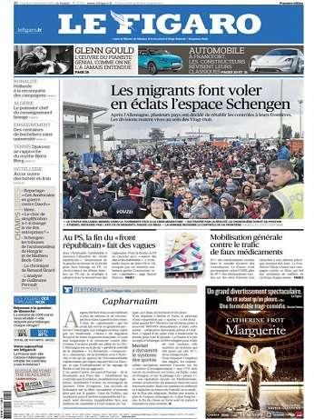 Le Figaro Du Mardi 15 Septembre 2015