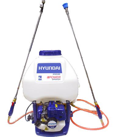 Aspersora Fumigadora Motorizada Bomba Hyundai 25 Lt Hyd2530v