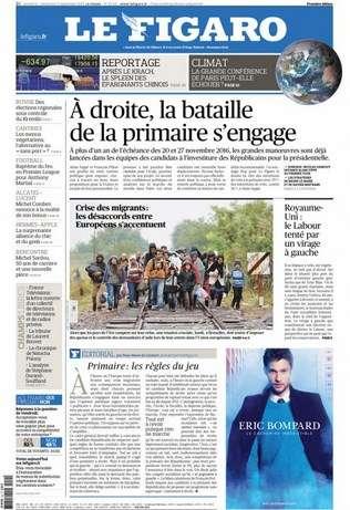Le Figaro WEEK-END Du Samedi 12 & Dimanche 13 Septembre 2015