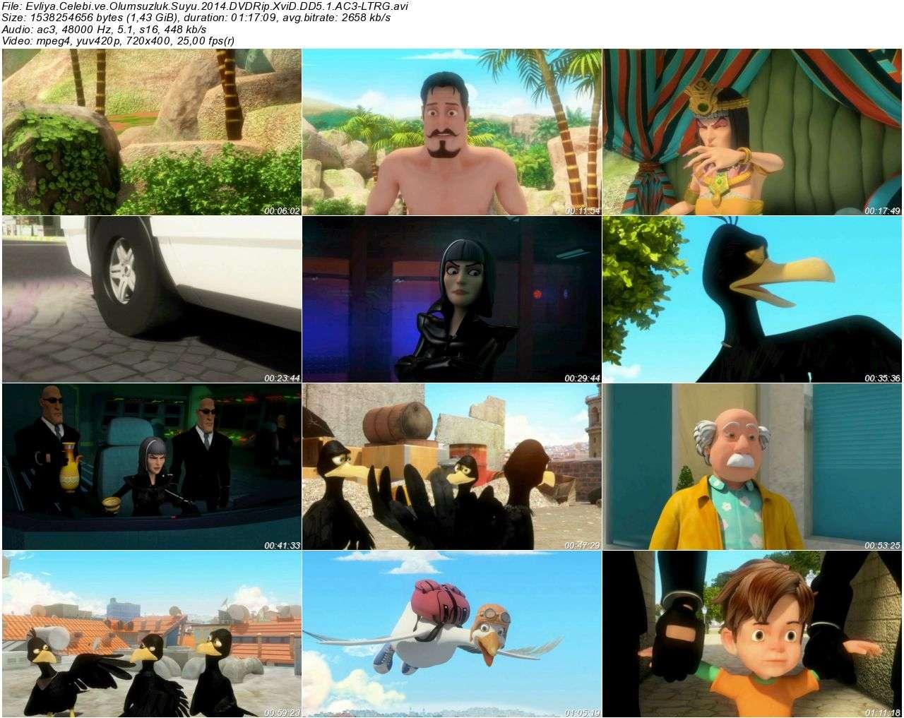 Evliya Çelebi ve Ölümsüzlük Suyu - 2014 DVDRip XviD AC3 - Tek Link indir