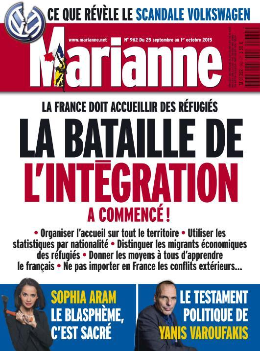Marianne - 25 Septembre au 1er Octobre 2015