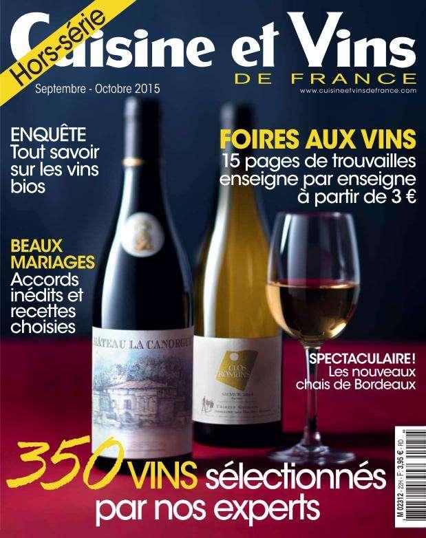 Cuisine et Vins de France Hors-Série - Septembre-Octobre 2015