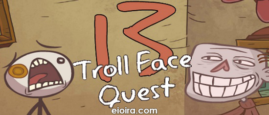 Trollface Quest 13 Logo