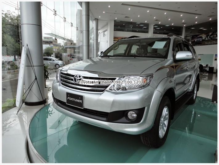 Cong bo phien ban the he moi nhat Toyota Fortuner 2015