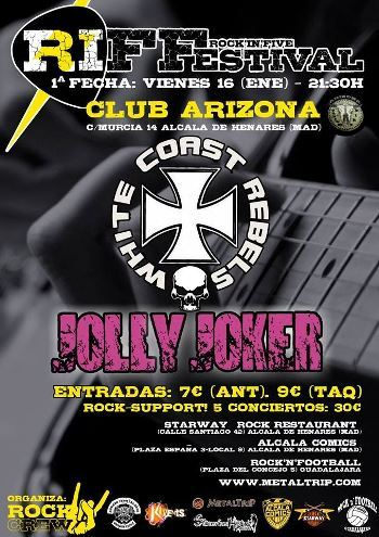 Rock'in Five Festival cartel enero