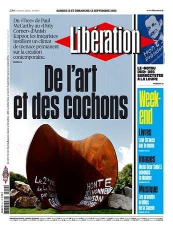 Liberation WEEK-END Du Samedi 12 & Dimanche 13 Septembre 2015