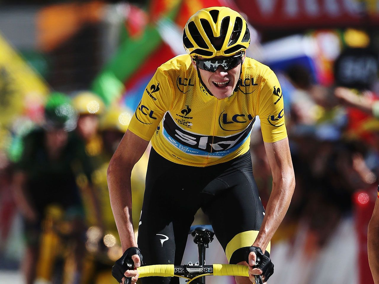 Christopher Froome 2015 Tour de France
