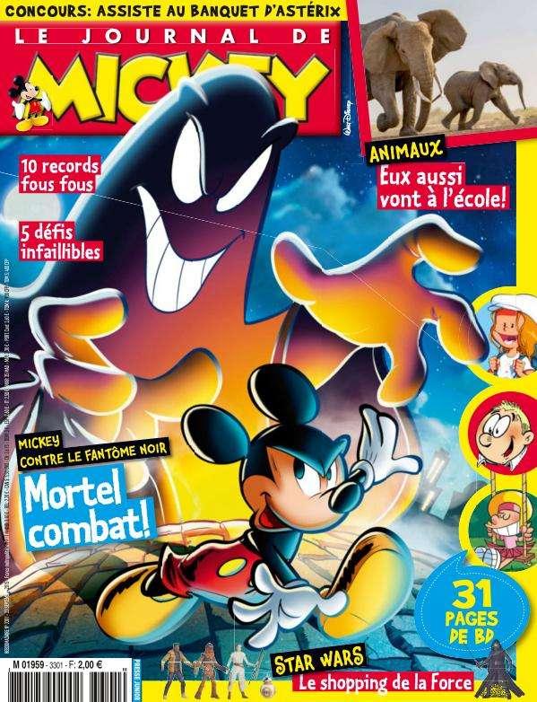 Le Journal de Mickey - 23 au 29 Septembre 2015