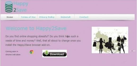Remove Happy2Save Pop-up