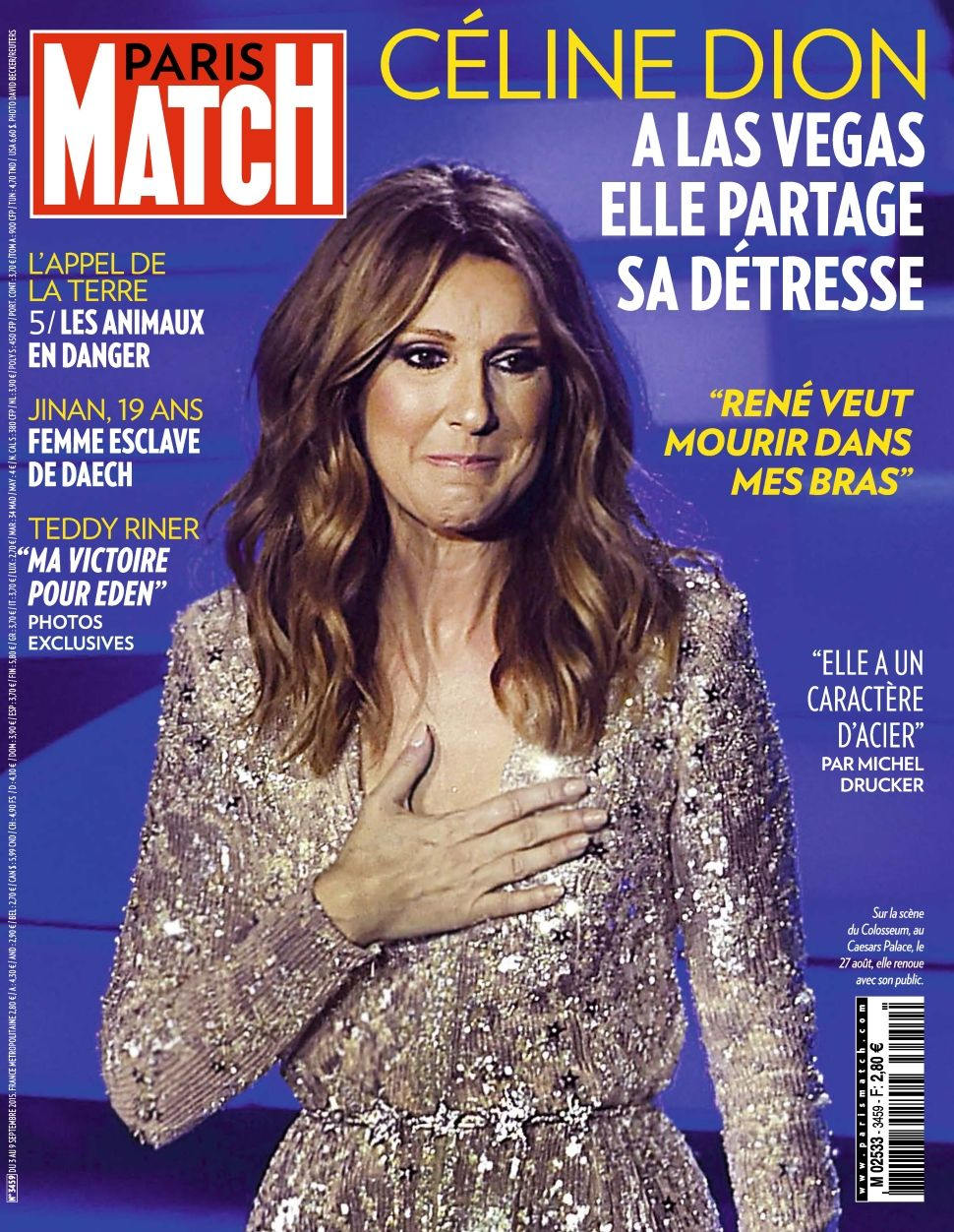 Paris Match 3459 - 03 au 09 Septembre 2015
