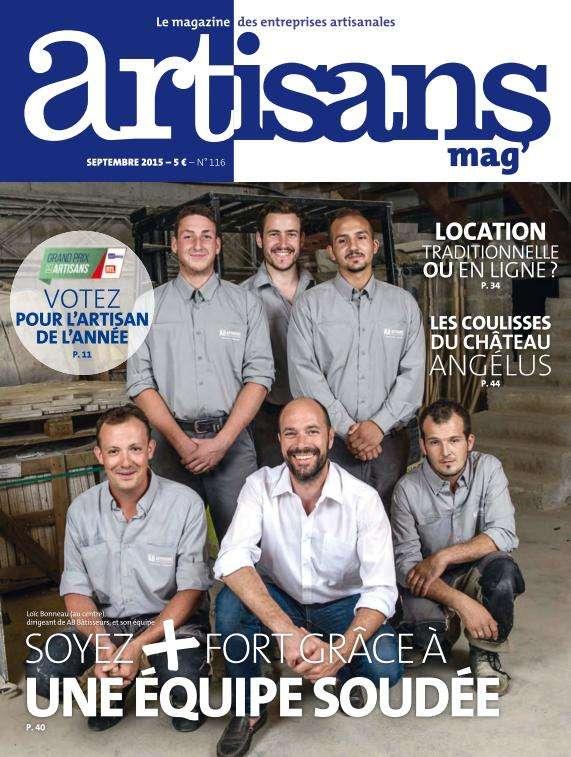 Artisans Mag' - Septembre 2015