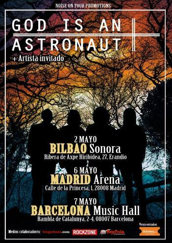 God Is An Astronaut gira