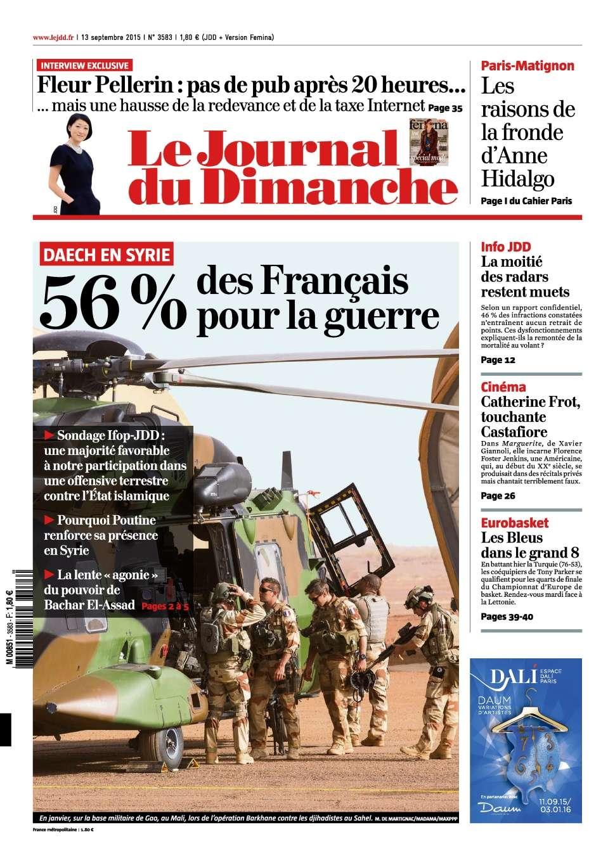Le Journal du Dimanche - 13 Septembre 2015