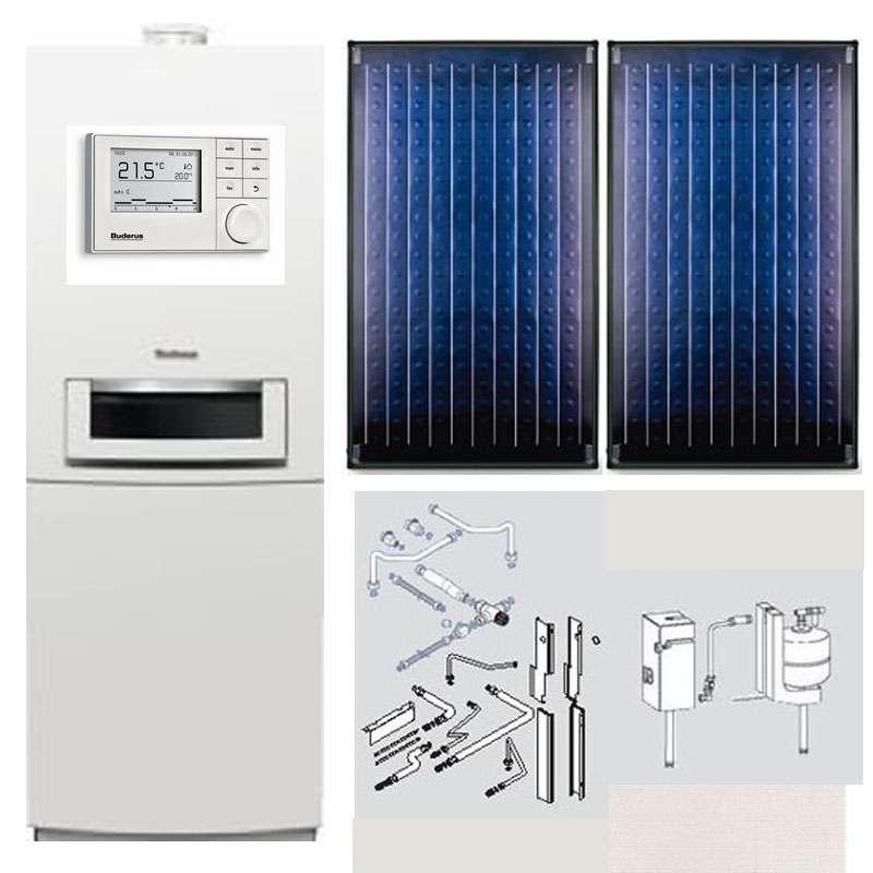 buderus logasys sl105 gas brennwert therme gb172 t210sr solarkollektoren rc300 ebay. Black Bedroom Furniture Sets. Home Design Ideas