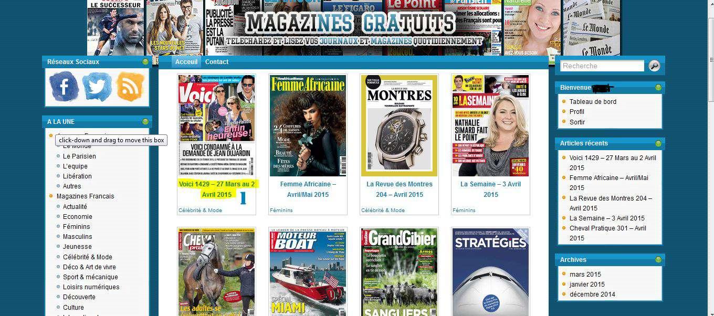 Magazines Gratuits