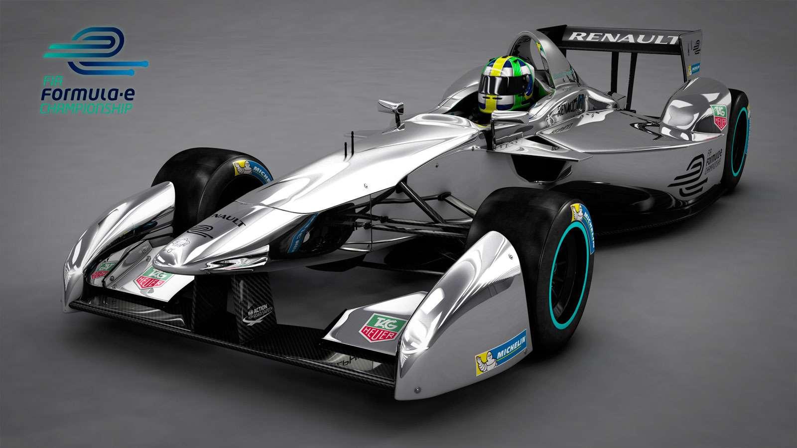 2014-2015 Formula E Car