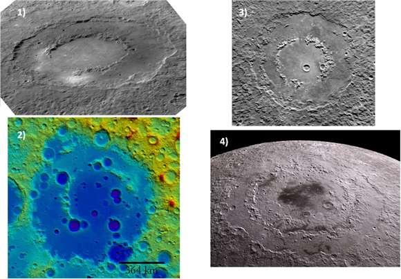 Kosmiczna rzeźba terenu