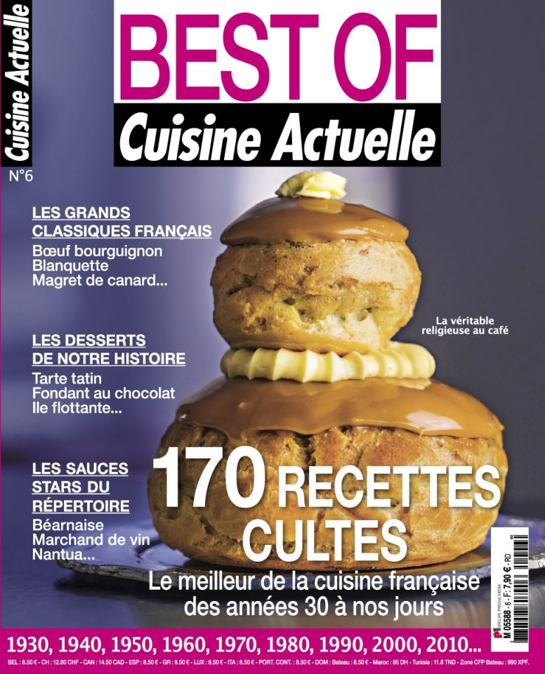 Cuisine Actuelle Best Of 6 - Automne 2015