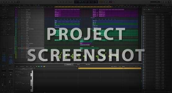 Logic Pro X Screenshot Template / Project