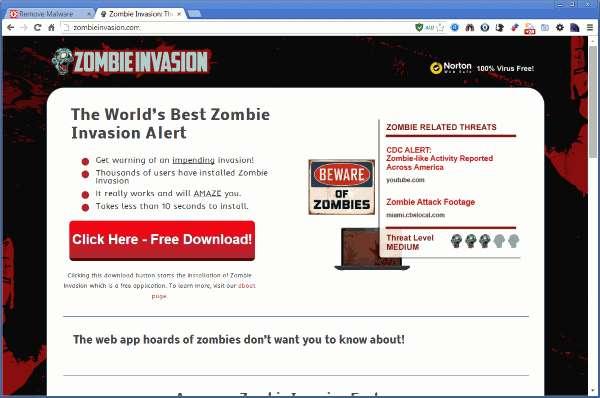 إزالة الإعلانات من قبل â € € œZombie Invasionâ