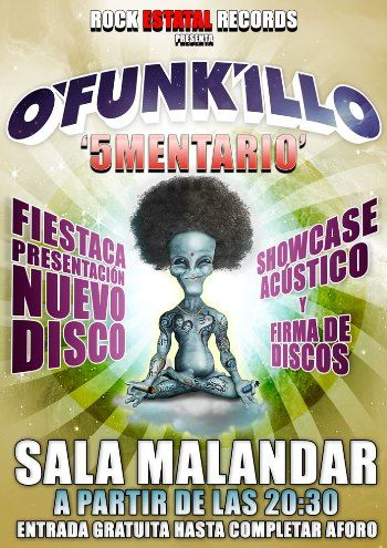 O'Funkillo Sevilla cartel