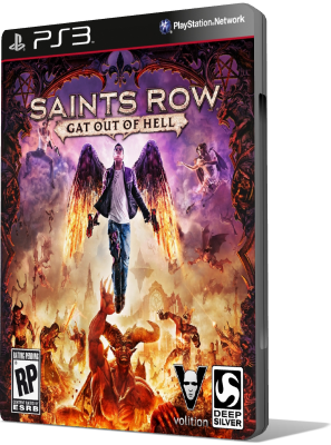 [PS3] Saints Row: Gat out of Hell (2015) - SUB ITA
