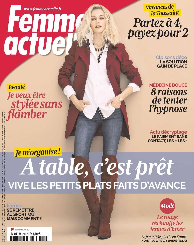 Femme Actuelle 1617 - 21 au 27 Septembre 2015