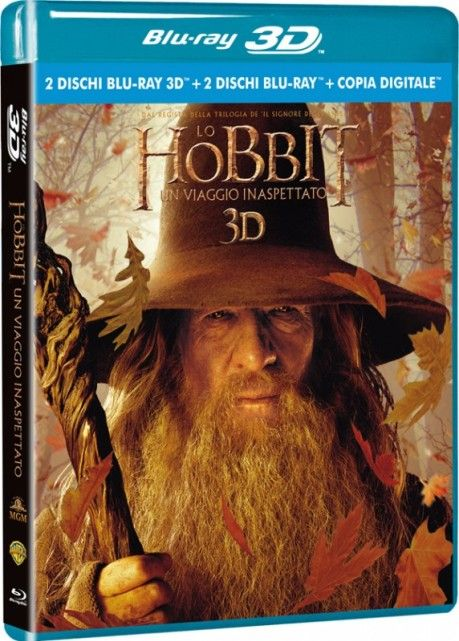 Lo Hobbit - Un viaggio inaspettato 3D (2012) [Extended Edition] FullHD 1080p H.SBS ITA AC3 ENG DTS Subs