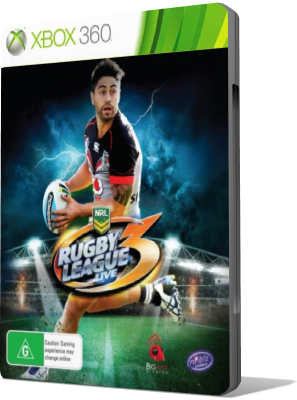 [XBOX360] Rugby League Live 3 (2015) - ENG
