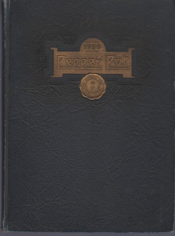 the Pepper Pot 1930, The Yearbook of the Ethel Walker School for Girls, Ethel Walker School for Girls