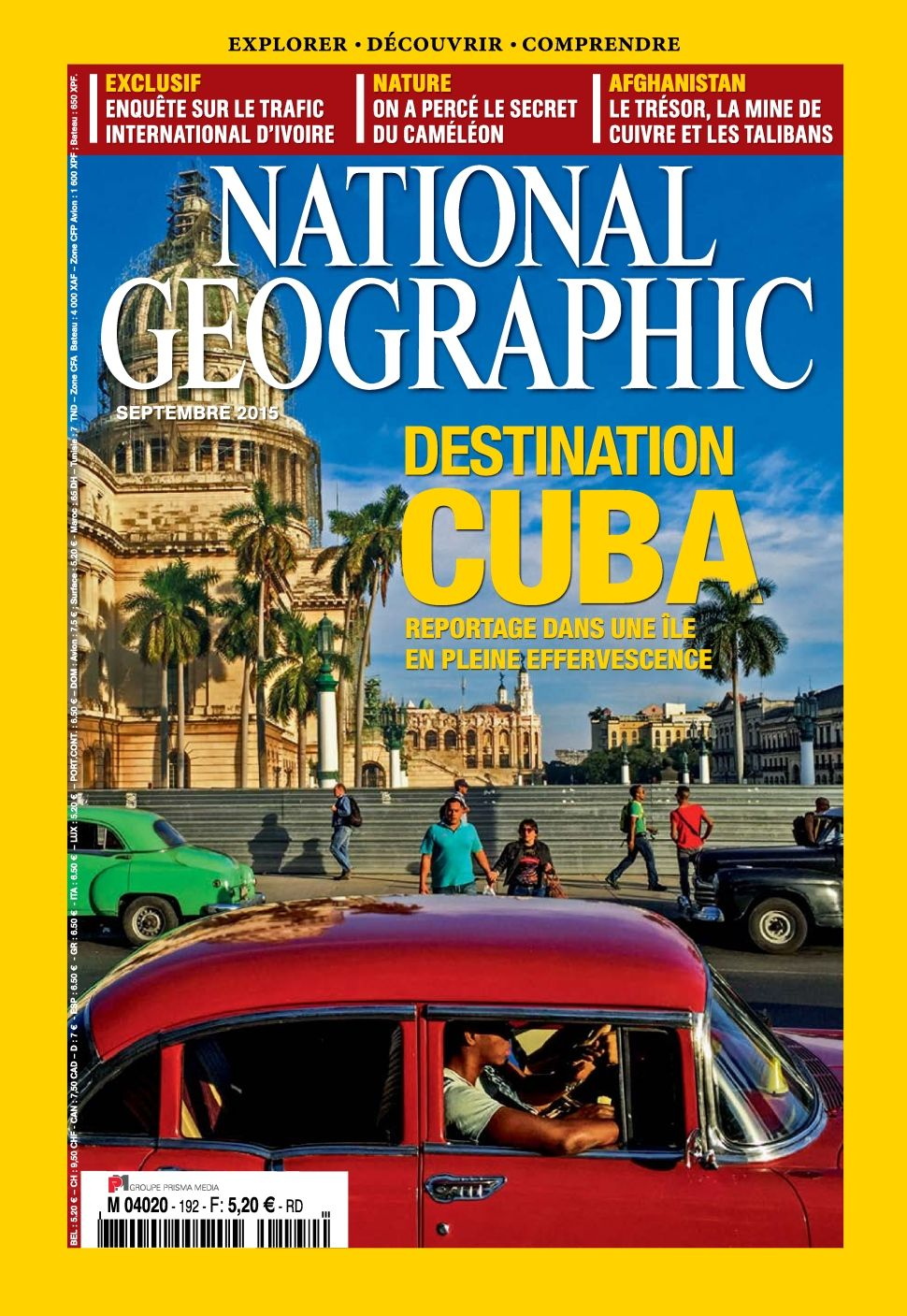 National Geographic 192 - Septembre 2015