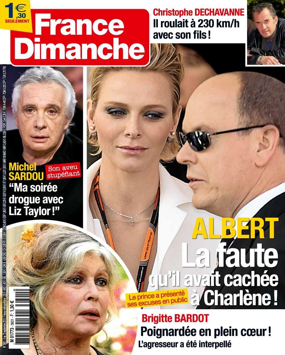 France Dimanche 3601 - 4 au 10 Septembre 2015