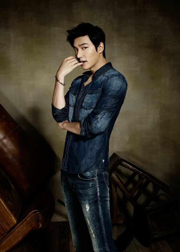 Additional GUESS JEANS F/W 2014 Ads Feat. Lee Min Ho ... Guess Jeans Ad