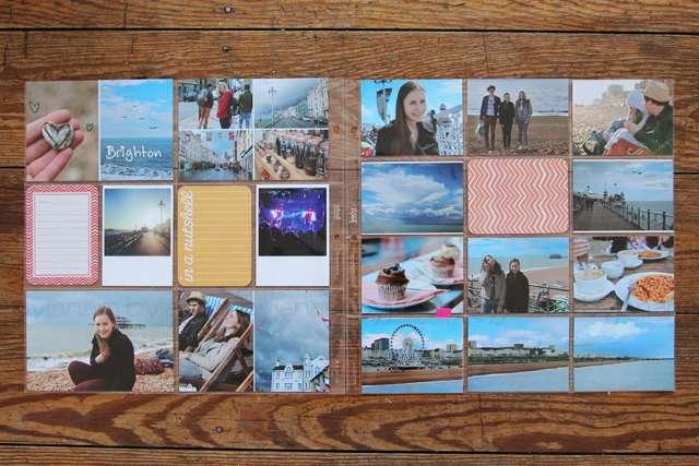 Project Life Seiten Brighton