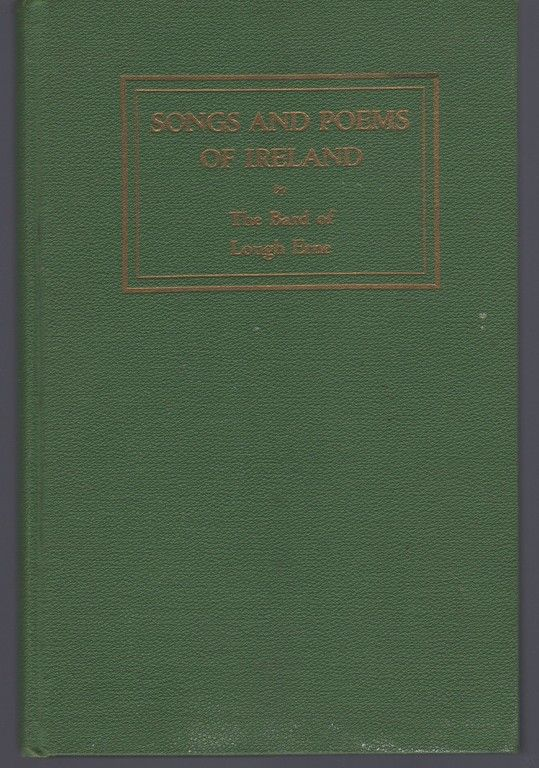 Songs and poems of Ireland, bard of Lough Erne. Thomas A. Robinson