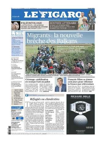 Le Figaro du Jeudi 27 Août 2015