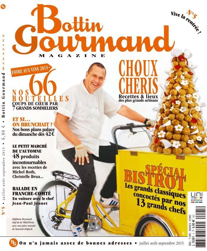 Bottin Gourmand - Juillet-Septembre 2015